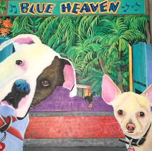 Blue Heaven Photobomb