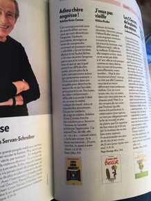 Article Psychologies magazine