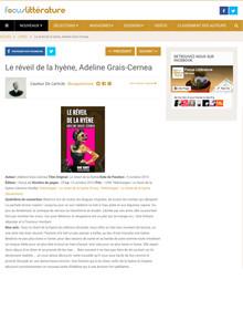 Le Réveil de la Hyène Adeline Grais-Cernea