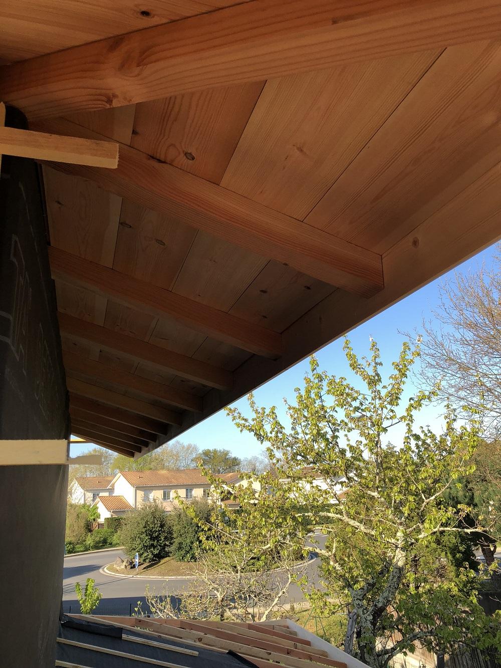 Agrandissement bois maison