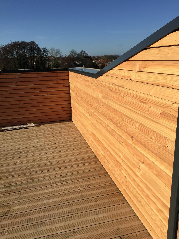 Aménagement terrasse bois Bordeaux