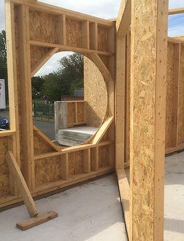 extension ossature bois en gironde