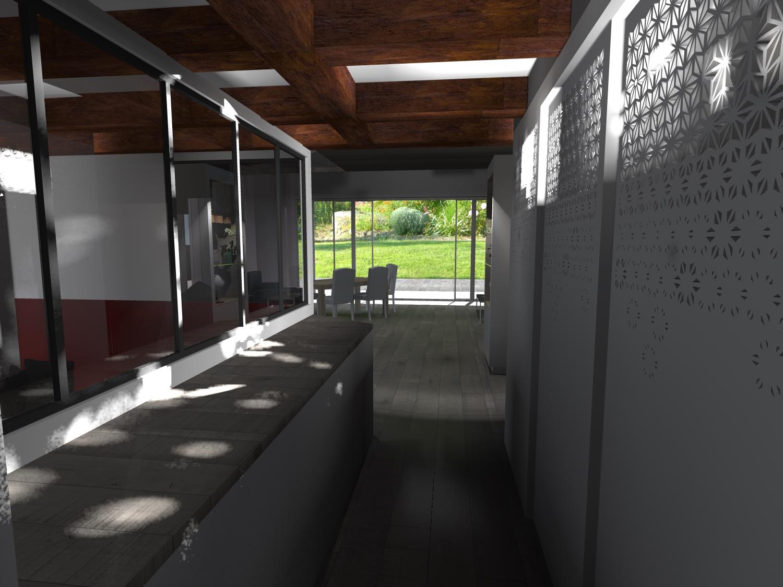 extension bois maison Gujan Mestras