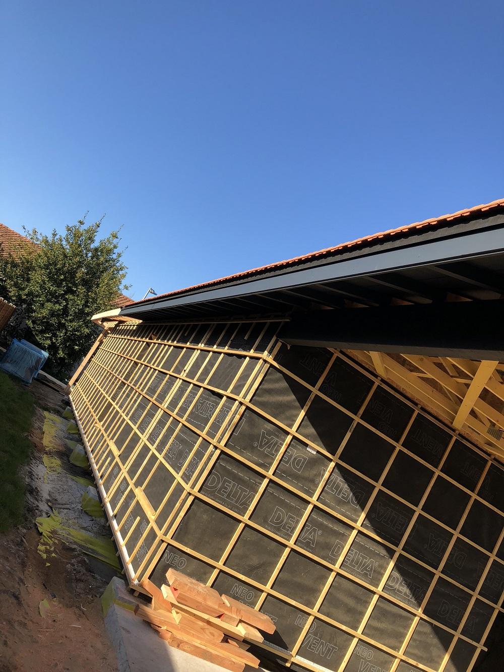 extension bois maison Merignac