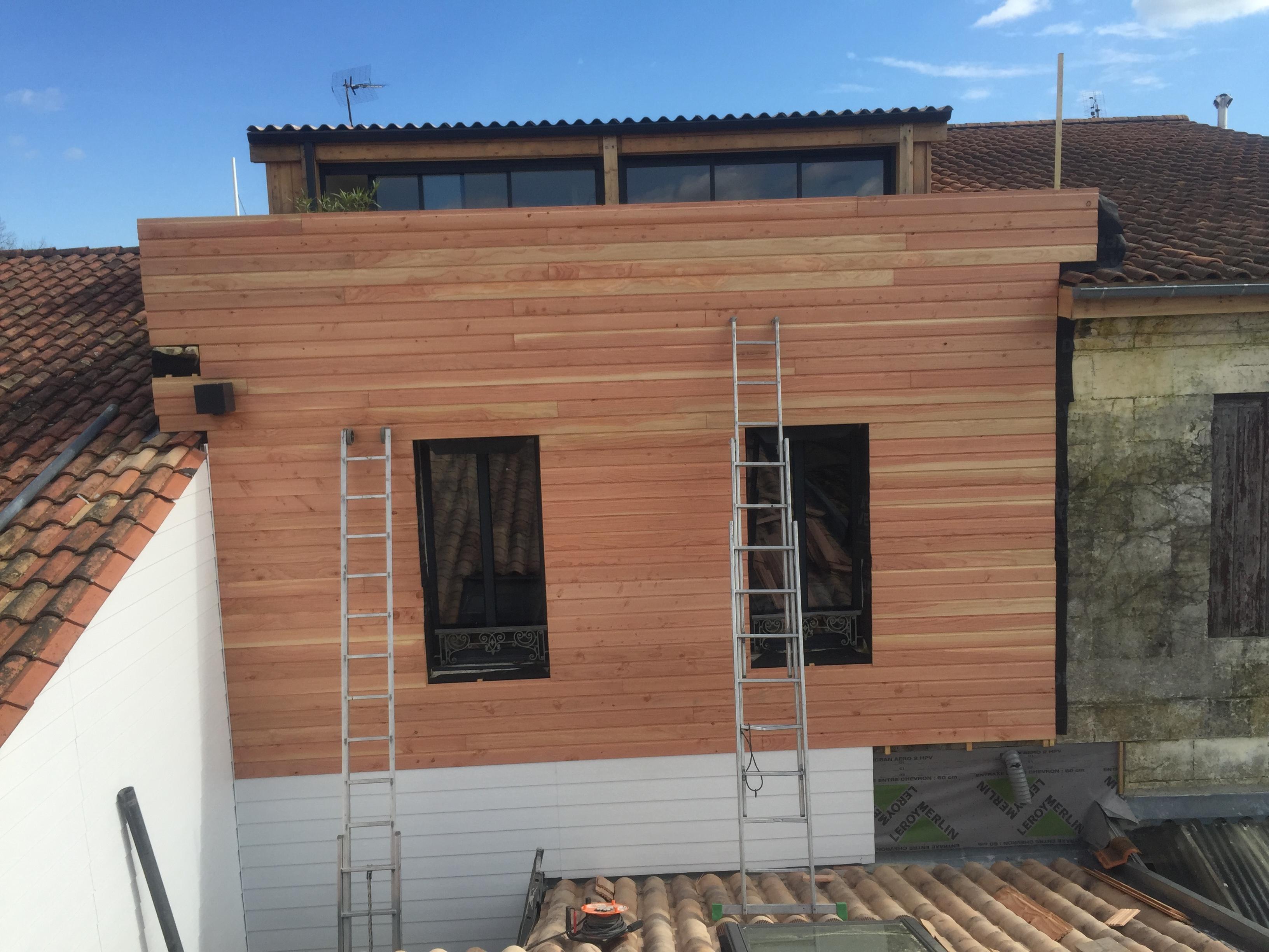Surélévation maison Léognan