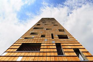 Les sites retenus pour la construction en ossature bois d'immeubles de grande hauteur