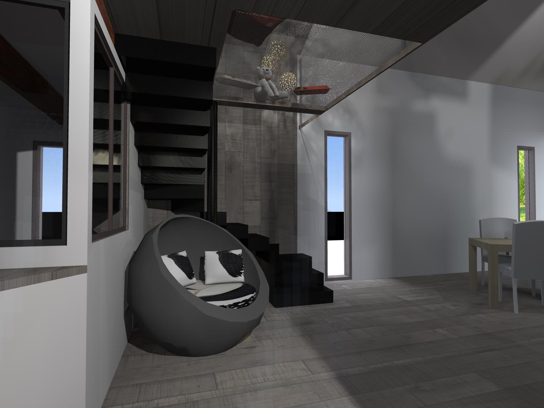 Extension maison bois Gironde