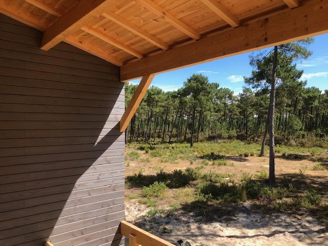 Surélévation maison bois Bordeaux