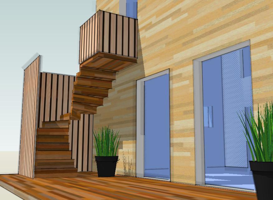 maison bois cap ferret Gironde