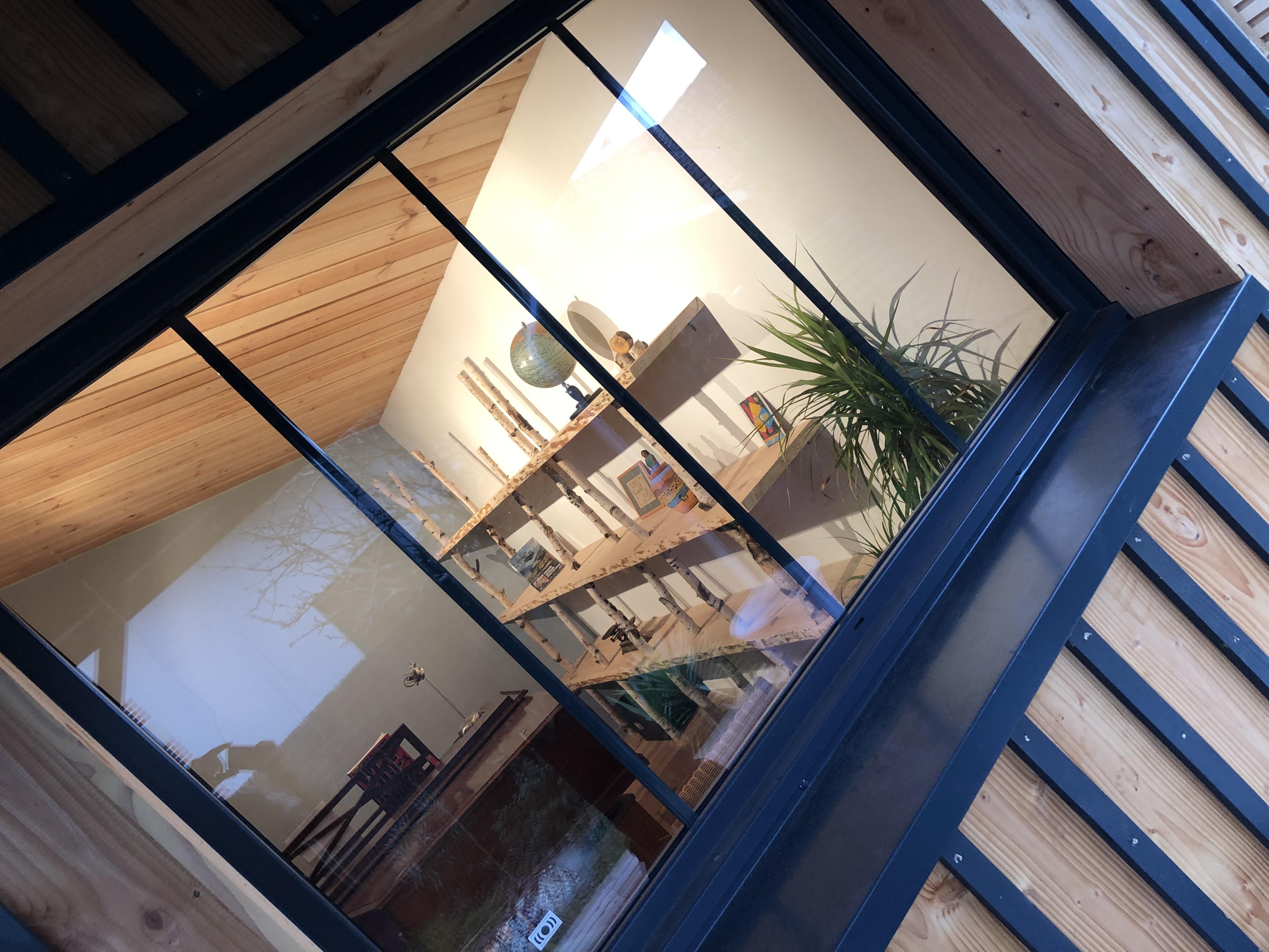 Extension bois d'une maison