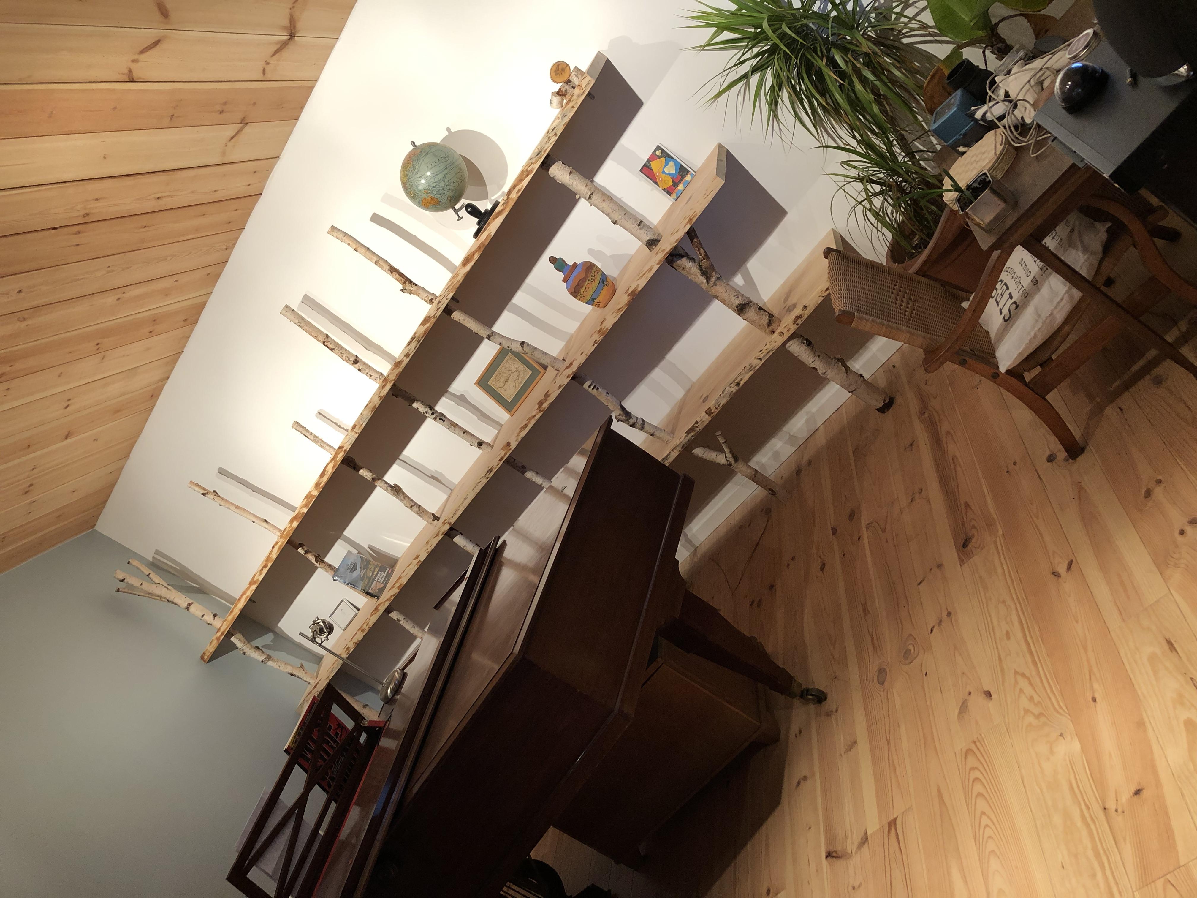 Agencement intérieur maison bois