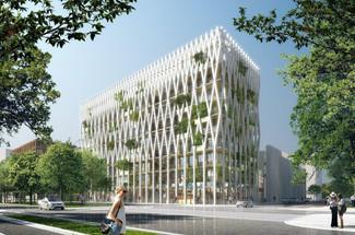 Un nouveau projet d'immeuble en bois voit le jour
