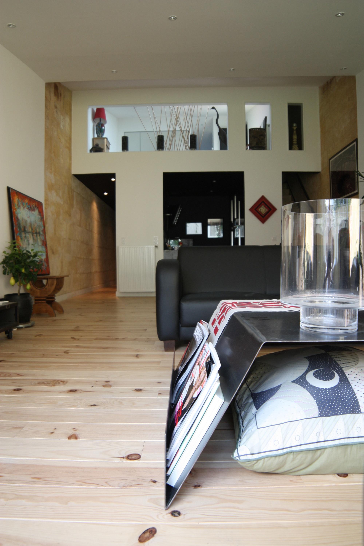 Amenagement intérieur maison bois 33