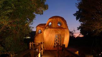 Bordeaux, prix de l'innovation 2016 pour les refuges périurbains en bois