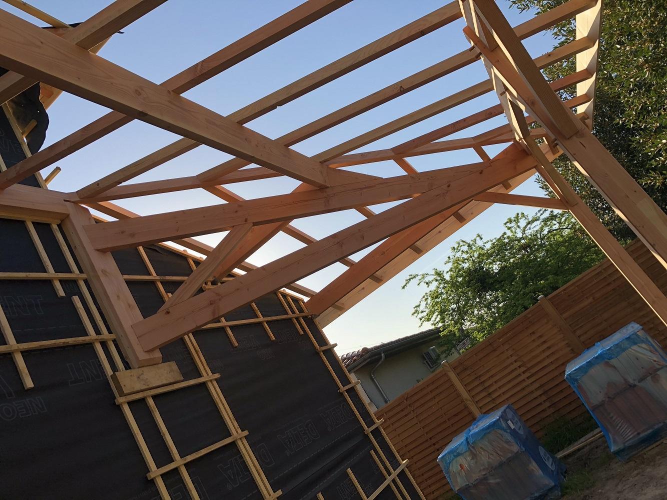 Extension maison bois Lormont
