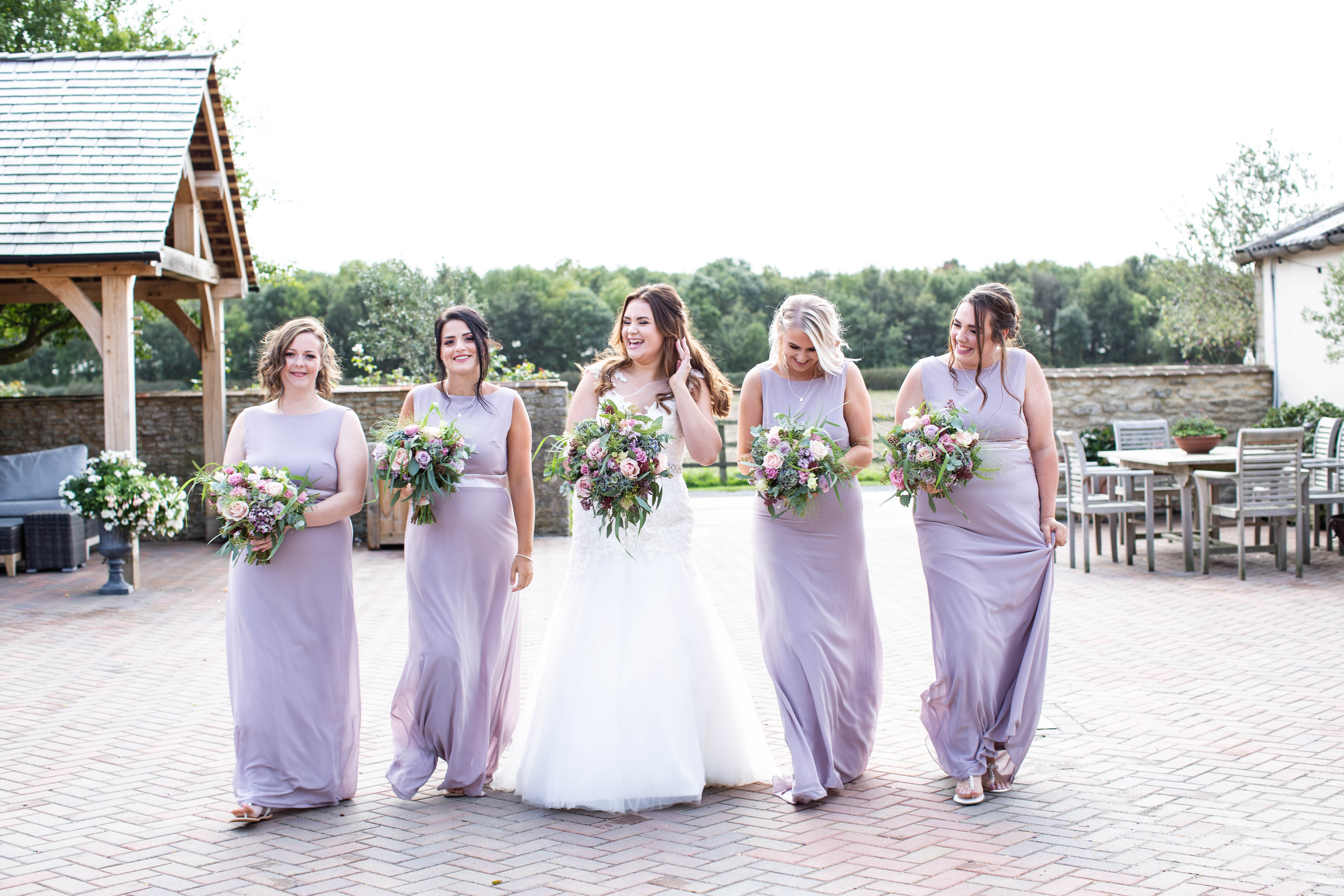 A group of brides.