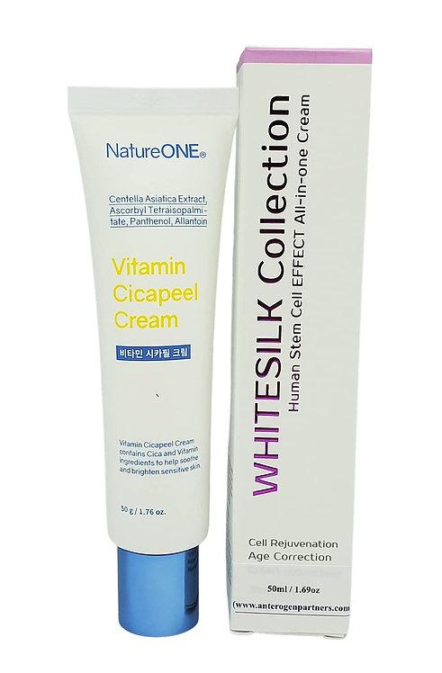 WHITESILK Collection — Human Stem Cell & Bio Micro-Spicule Peeling Cream
