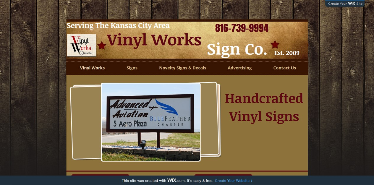 Vinyl Works Sign Co