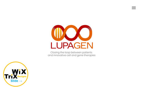 Lupagen Mission: Create a clean, simple slide show website...