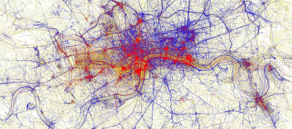 Map of London by Eric Fischer cropped, lower res