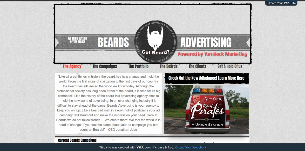 Beards Advertising