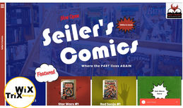 Seiler's Comics Mission: Setup basic long scroll eStore.