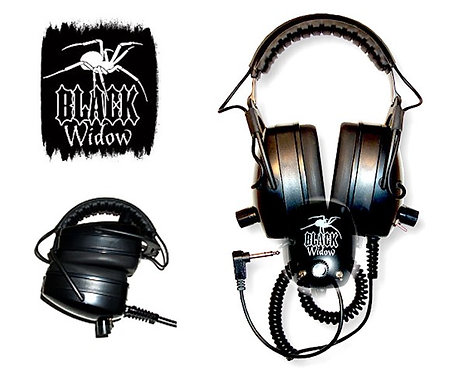 DetectorPro Black Widow Headphones