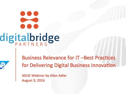IT/Business Relevance