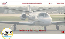Red Wing Aviation Mission: Build a long scroll site to match our new...