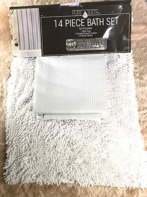 SET Baño Blanco Pure Bath
