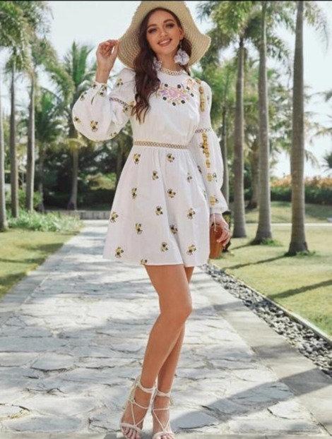 Vestido bohemio floral