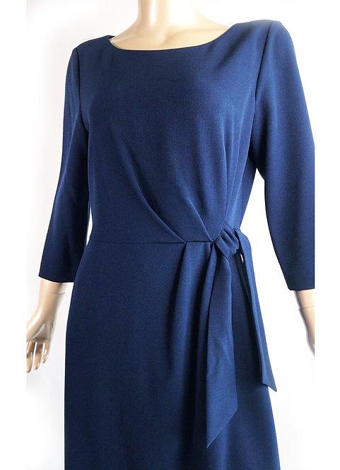 Vestido Coctel Blue Navy