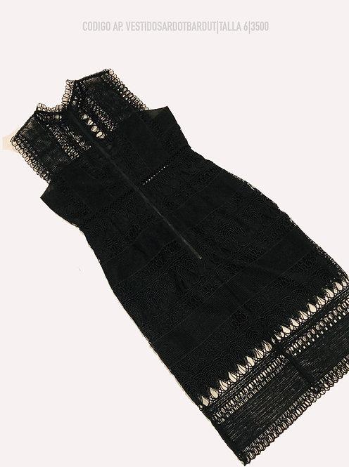 MINIDRESS BLACK SARDOT BARDUT