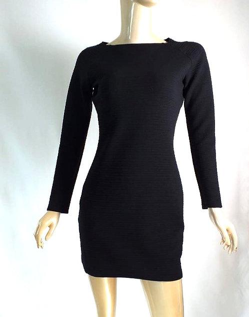 Vestido M|Larga Negro