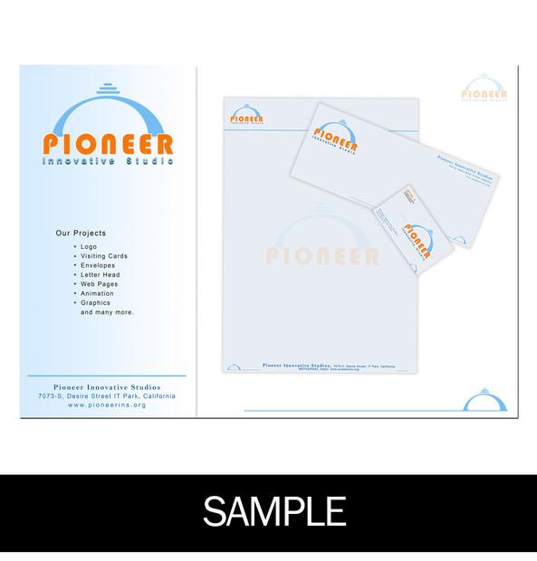 Complete Stationery Design Sample