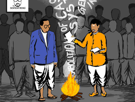 Manusmriti Dahan (Burning of Manusmriti)