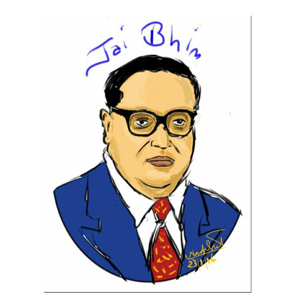 Dr Ambedkar my first digital art