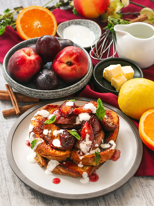 PAIN PERDU | ROAST SUMMER FRUIT| CITRUS CREME (07/19 4pm EST)
