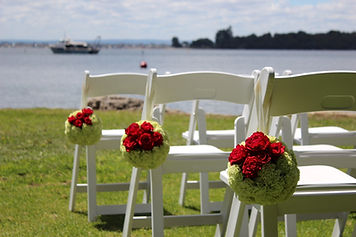 Wedding Flowers Perth - Chair Pews