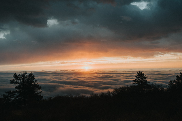 Sandia Fog