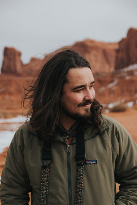 Jeff Rose in Monument Valley