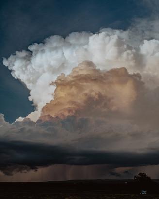 New Mexico Rain Clouds