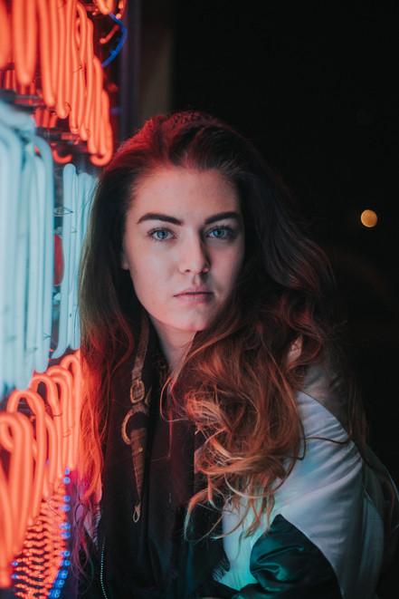 Neon Lights with Susann