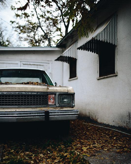 Grunge Car