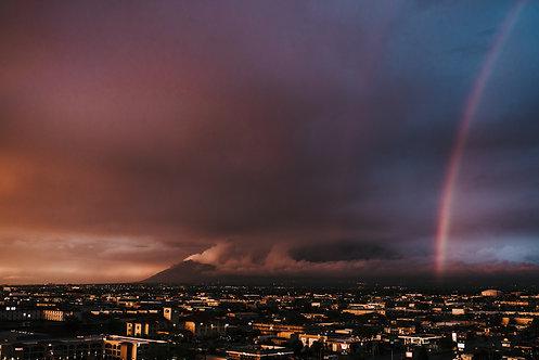 ABQ Rainbow Sunset