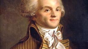 Personnalités #7- Robespierre, o incorruptível do terror