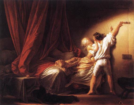Le verrou - Fragonard