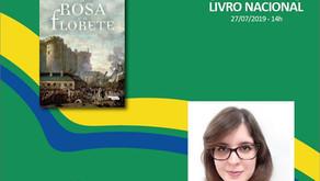 """""""A Rosa e o Florete"""" na Semana do Livro Nacional!!!"""