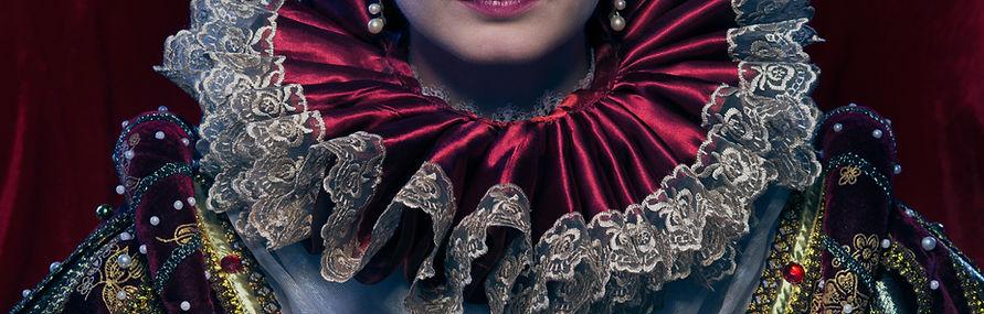 In Royal Dress