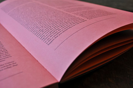 artist book and reader